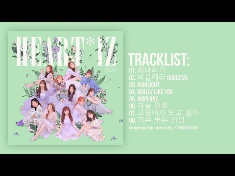 [Full Album] IZ*ONE (아이즈원) - HEART*IZ (2nd Mini Album)