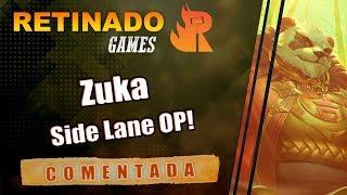 Arena of Valor AOV - Gameplay COMENTADA: Zuka Side Lane OP ! Garena ROV / 傳說對決