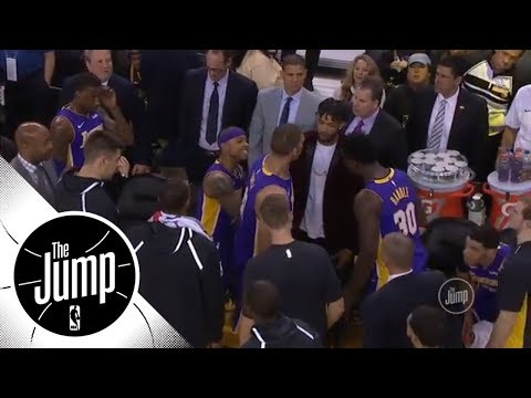 Paul Pierce reacts to Lakers scuffle between Isaiah Thomas and Julius Randle   The Jump   ESPN