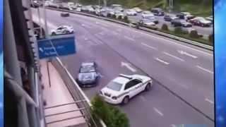 Стёб над гаишниками! приколы на дорогах, ГАИ!