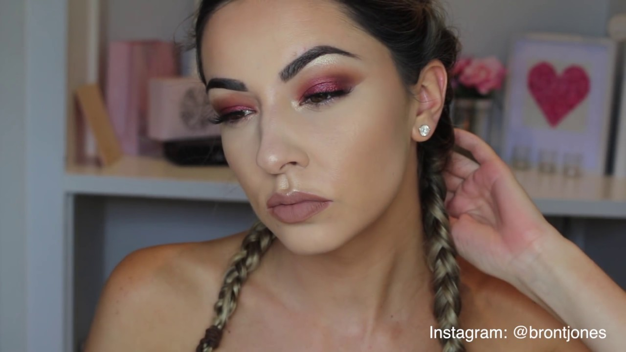Grwm Warm Red Eye Makeup Tutorial For Hooded Eyes Youtube