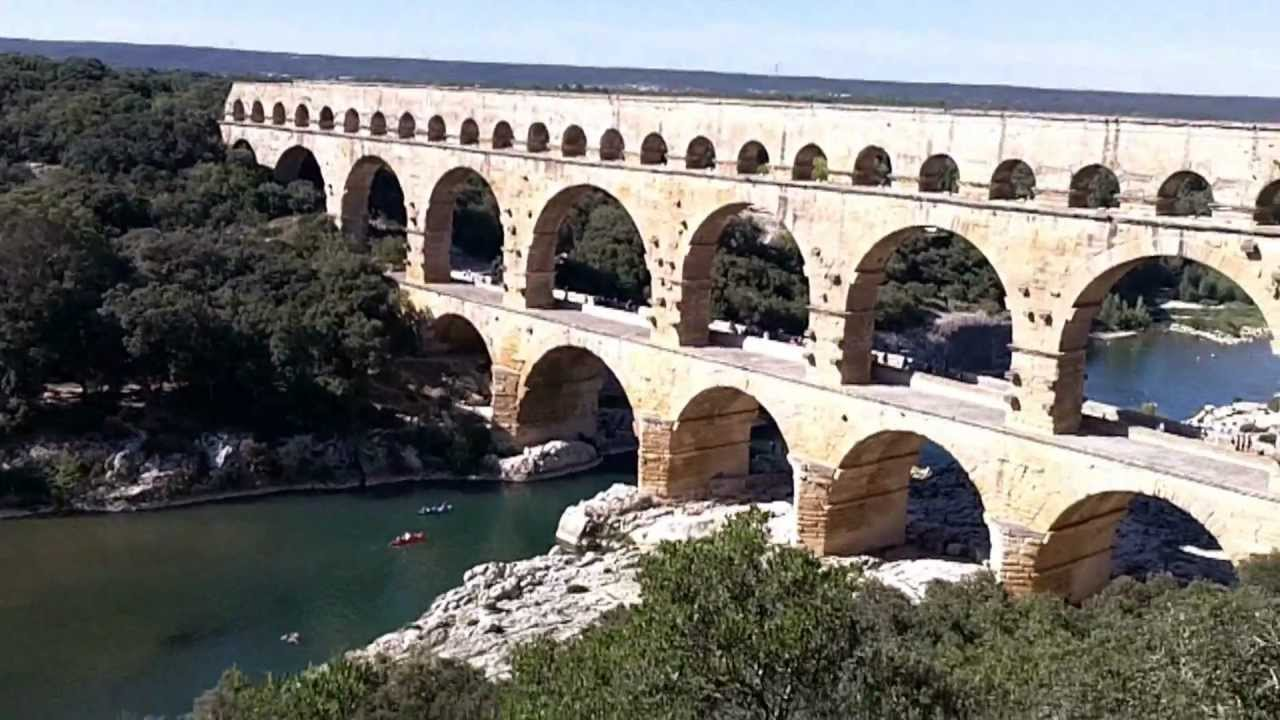 pont du gard youtube. Black Bedroom Furniture Sets. Home Design Ideas