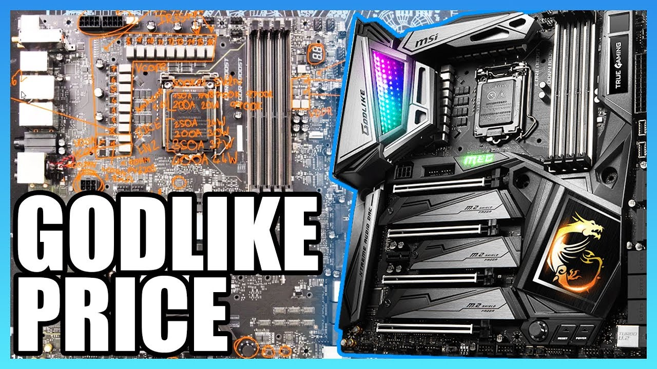 MSI Z390 Godlike Review: $600 Motherboard Break-Down & VRM