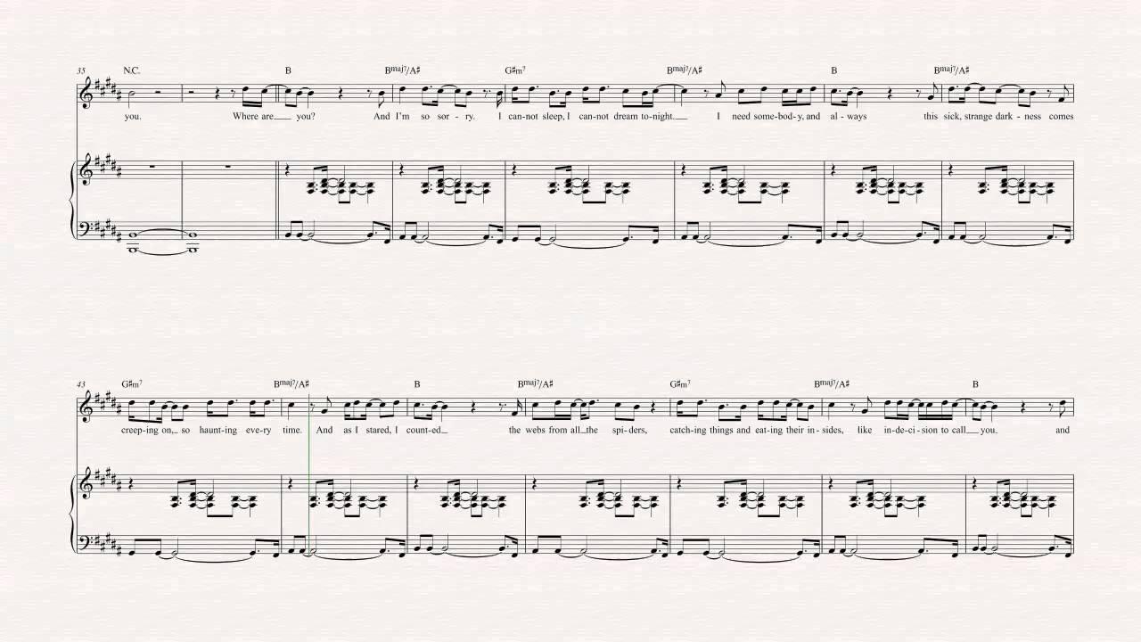 Flute   I Miss You   Blink 15   Sheet Music, Chords, & Vocals