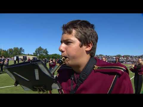 Loyola Academy Marching Band-Xfinity High School Half time show.