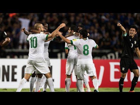 ملخص مباراة تايلاند 0-3 السعودية | تعليق فهد العتيبي | تصفيات كأس العالم 2018