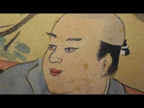 HUGE Amazing Vintage Japanese Art - 12 Foot Long Samurai Paintings - Japan Rare!