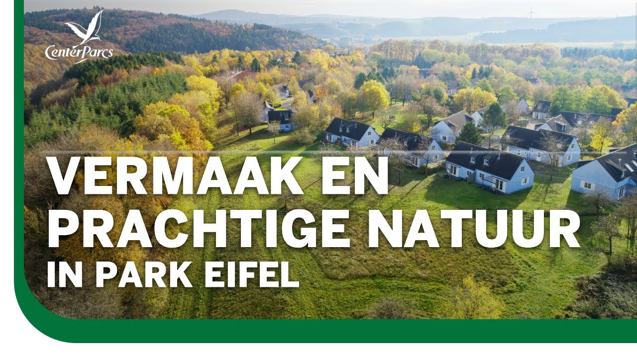 Park Eifel, zorgeloos spelen, omringd door een prachtig vulkaanlandschap | Center Parcs