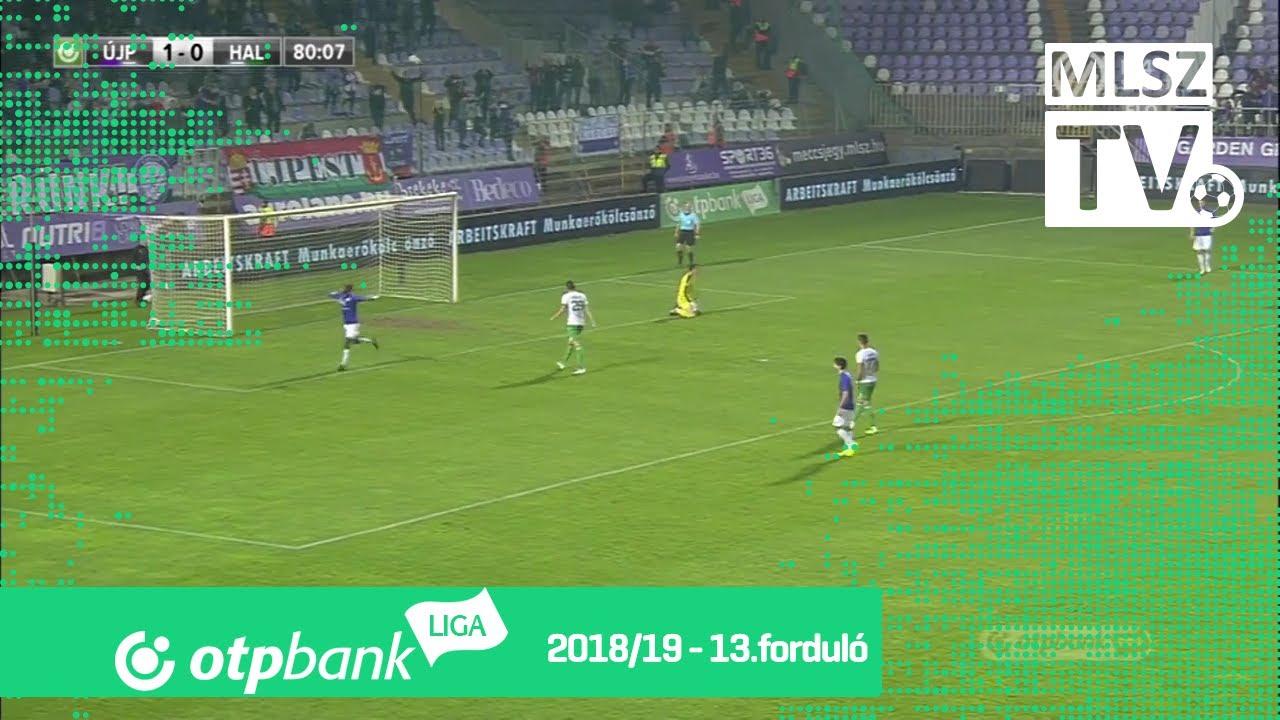 Újpest FC - Szombathelyi Haladás | 2-0 (0-0) | OTP Bank Liga | 13. forduló | 2018/2019