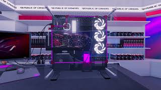 Republic of Gamers Workshop DLC trailer – PC Building Simulator