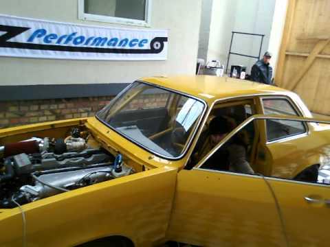 ASCONA c30se Turbo auf dem Leistungsprüfstand bei Dresden