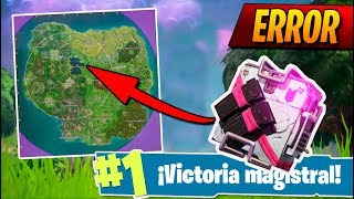 **NUEVO OBJETO** en FORTNITE por ERROR! FORTNITE: Battle Royale (Rastreador del Ojo de la Tormenta)