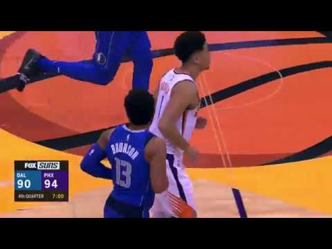 Rookie Jalen Brunson First NBA career Points vs. Suns [18.10.18.]