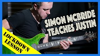 Simon McBride teaches Justin: Rock!
