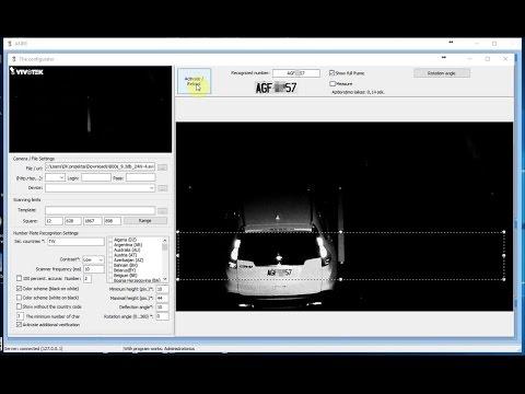 Video Analitika LPR with VIVOTEK IP816A-LPC Kit (Taiwan)