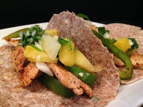Healthy Mexican Chicken Fajita Recipe