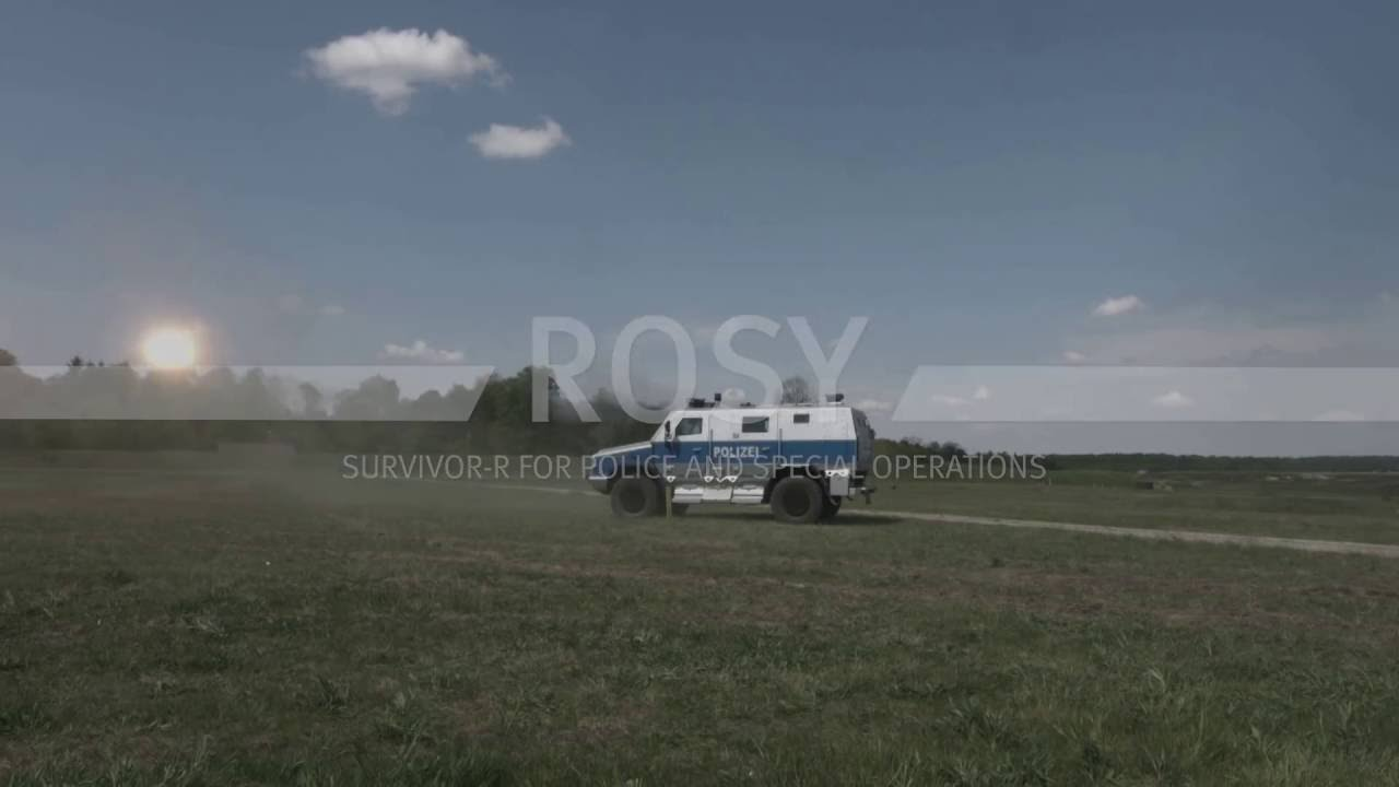 Download Rheinmetall ROSY protection system on the Survivor R Police