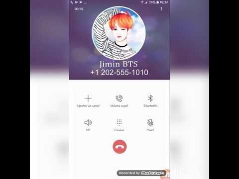 BTS real phone number 2019