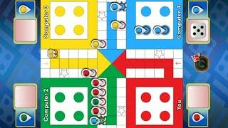 Ludo King 4 players | Ludo game in 4 players | Ludo King | Ludo gameplay #158 screenshot 1