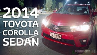 2014 COROLLA SEDAN Review - Northpoint Toyota