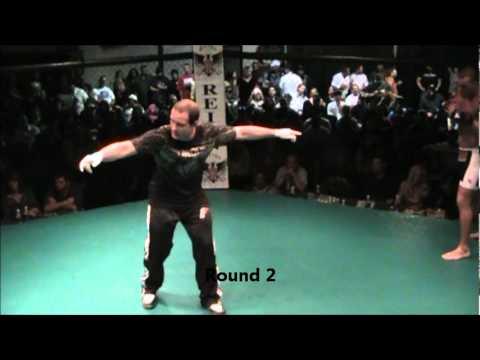 Josh Bush vs Tony Gockerell MMA Fight