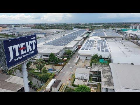 SMART ENERGY ตอน  SPCG ติดตั้ง Solar roof ที่  เจเทคโตะ ไทยแลนด์ (English Sub)