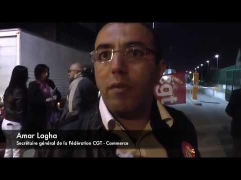 Val de Marne : mobilisation autour des salariés des Galeries Lafayette