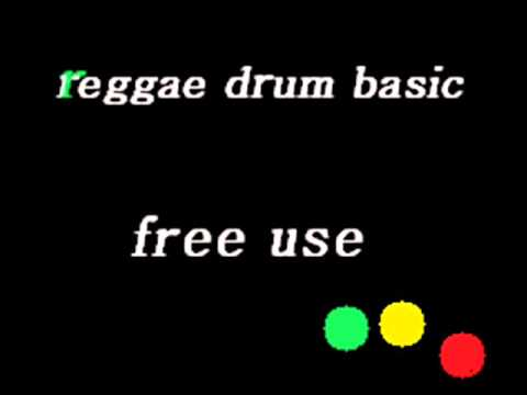 Reggae Drum Loop Beat 130 BPM Bass Guitar Practice Track Instrumental