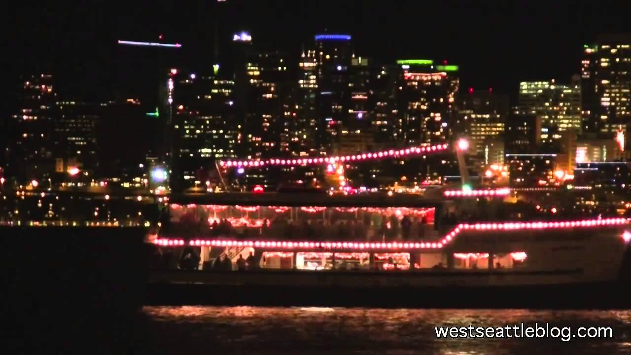 holy names choir serenades saltys from christmas ship - Argosy Christmas Ships 2014