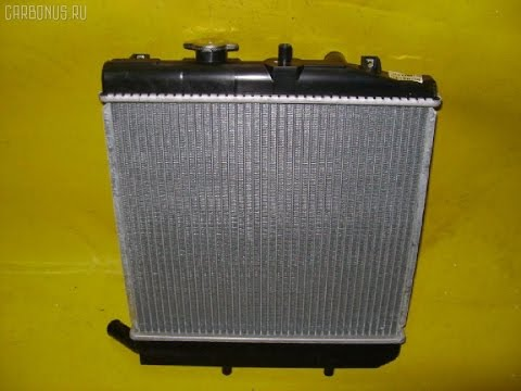 Замена радиатора охлаждения двигателя на Mazda Demio DW3W 1.3 АКПП