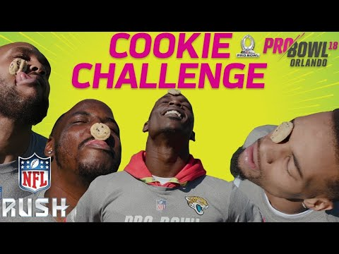 NFL Pro Bowlers Compete in the Cookie Challenge! | NFL RUSH