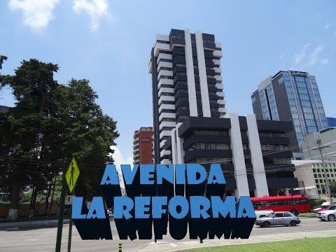 Avenida La Reforma - Ciudad de Guatemala