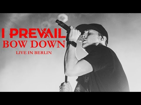"""I PREVAIL - """"Bow Down"""" live in Berlin [CORE COMMUNITY ON TOUR]"""