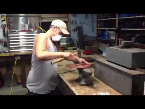 Soldering Copper Sheet Metal Youtube