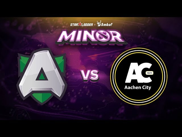 Alliance vs Aachen Game 2 - SL ImbaTV Minor EU Qualifier: Semifinals