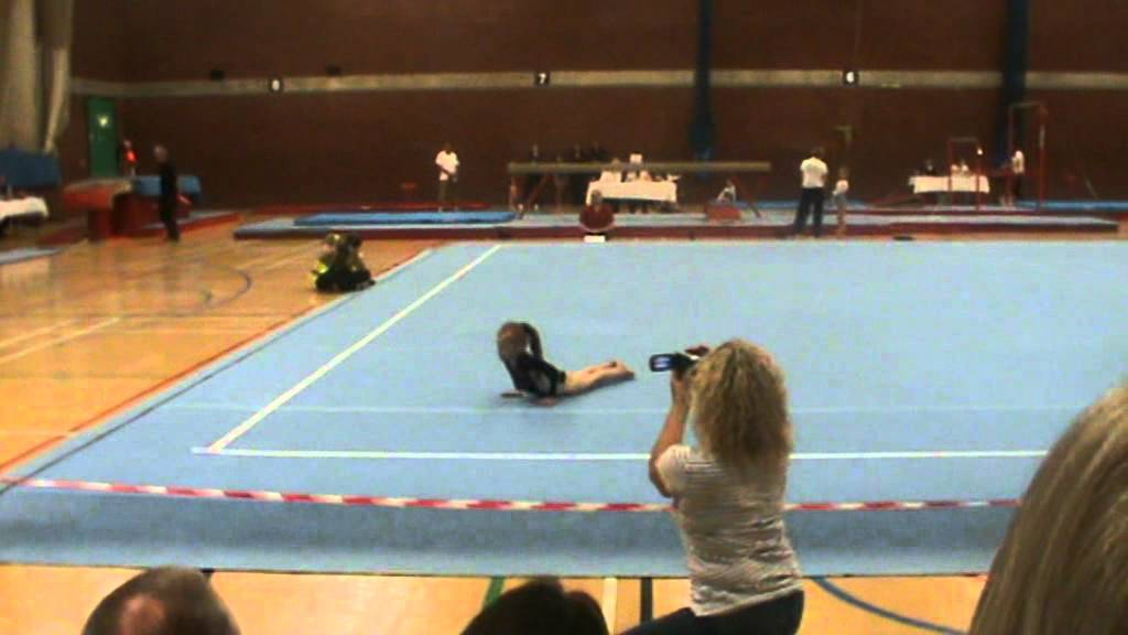 Ellie Botterill Floor Regional Final 8 Yrs Old