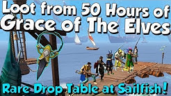 Loot from 50 Hours - Grace of The Elves Testing! [Runescape 3] Decent GP Boost!