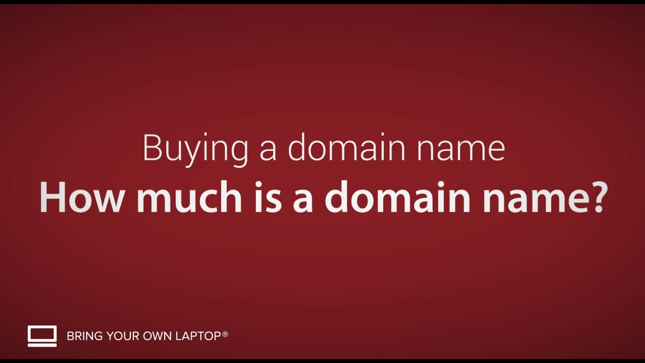 How much is a domain name? - Buying a domain name [4/9]