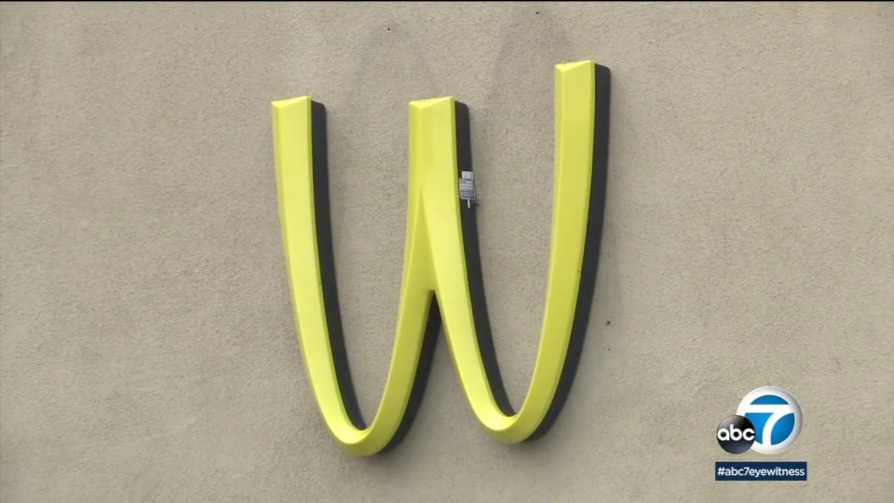 McDonald's in Lynwood flips its iconic golden arches - YouTube