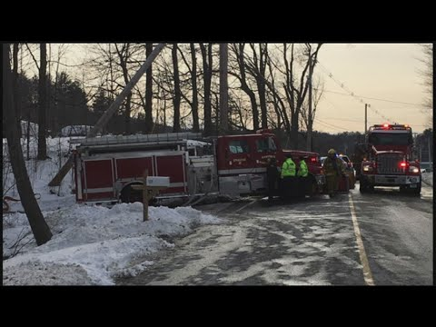 House fire on Somers Road in Hampden