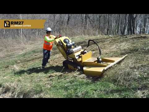 Repeat Mulching cattails with Toro Dingo and RotaDairon BRD 50 by