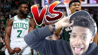 HOW ARE THEY THIS GOOD!?! BUCKS vs CELTICS GAME 1 & 2 REACTION!