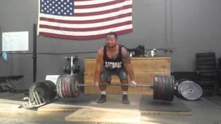 HIGA MONSTER 605 lbs x 7 reps deadlift