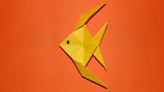 Repeat youtube video How To Make An Origami Fish 01