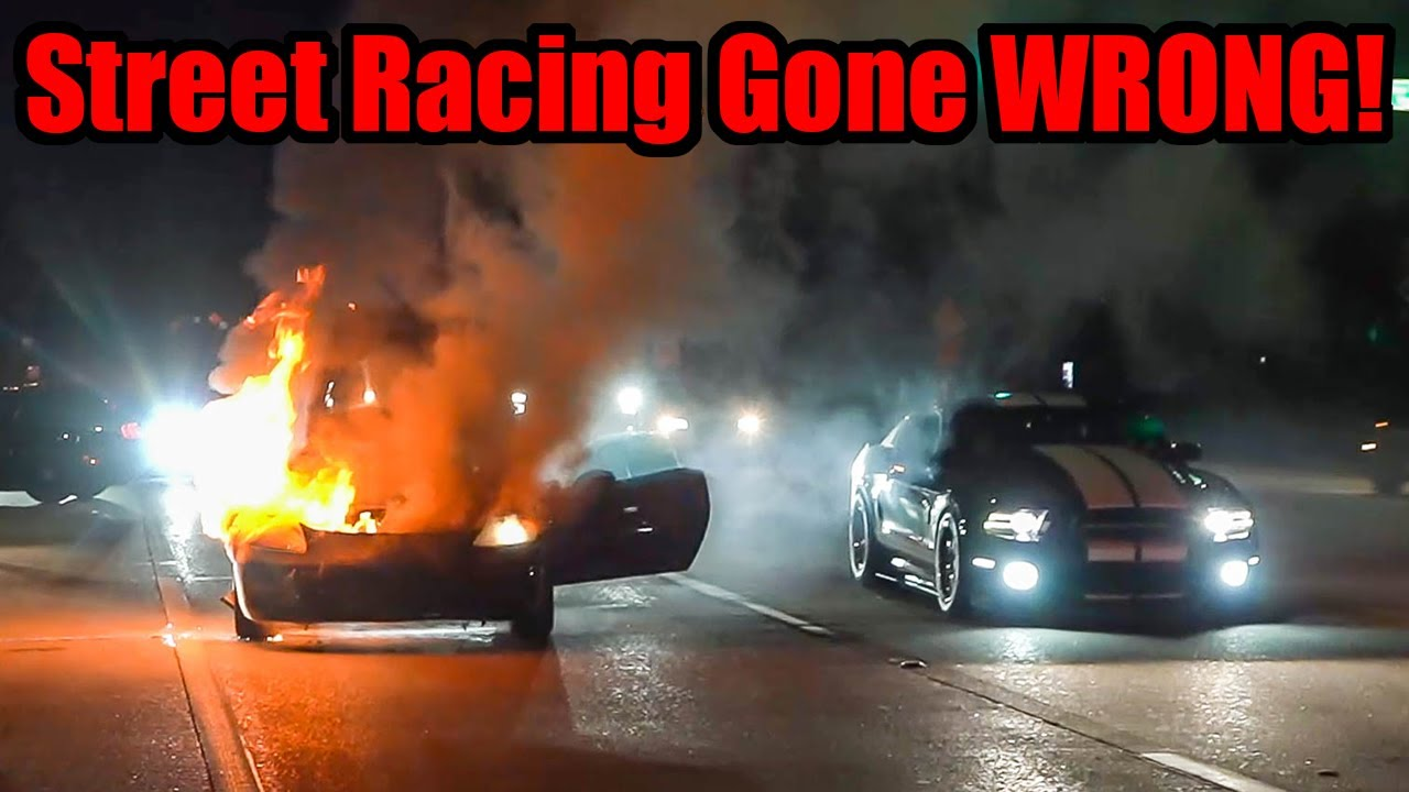 CORVETTE CATCHES FIRE STREET RACING DURING TX2K! (Total Loss or Fixable?)