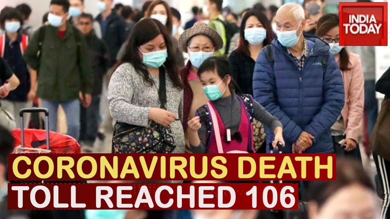 Coronavirus Death Toll Touches 106 In China, India Continues To ...