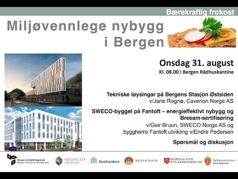 Bærekraftig frokost i Bergen - Miljøvennlige nybygg i Bergen