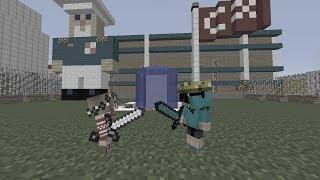 MİRA EFE İLE  KAVGA ETTİ ! 😱 😱 😱  - Minecraft