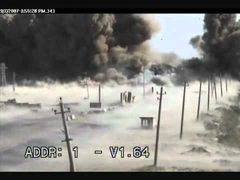 VBIED HUGE Roadside bomb Iraq
