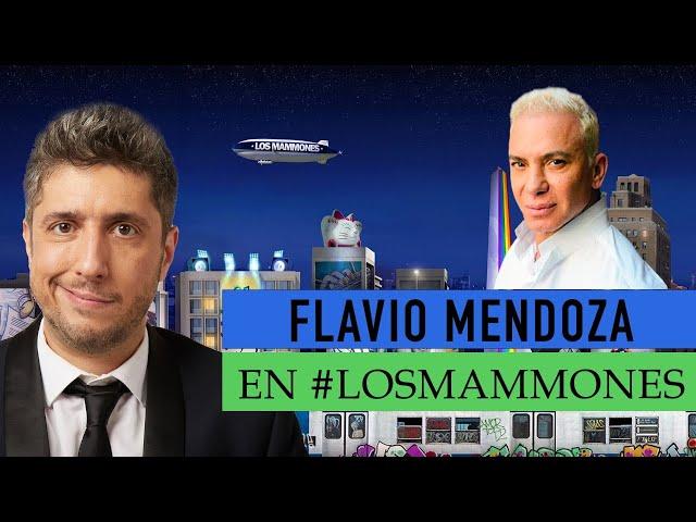 """Flavio Mendoza con Jey: """"Yo a mi hijo le enseño a ser feliz"""" - Los Mammones"""